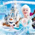 Evento especial Anna y Elsa's Frozen Fantasy en Disneylandia Tokio