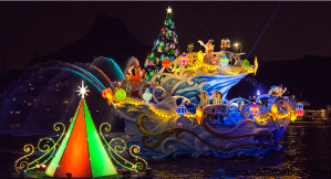 Colores de Navidad en Disney Tokio Sea