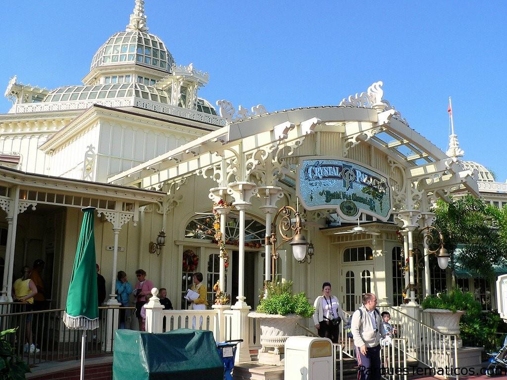 The Crystal Palace restaurante en Magic Kingdom