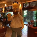 Desayuno del domingo en el Loews Royal Pacific en Orlando, Florida.