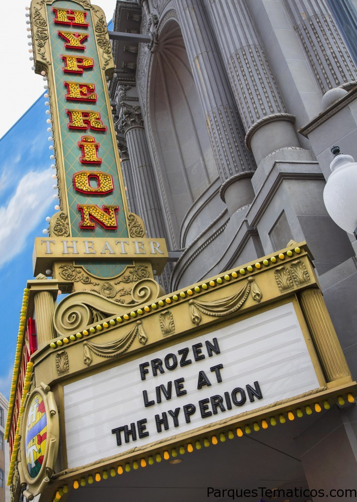 Nuevo musical de Frozen en Disneylandia California