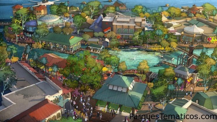 Disney Springs Continúa en Crecimiento y Agrega Más Experiencias Excepcionales de Restaurantes y Tiendas