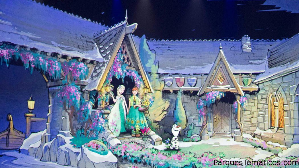 Frozen Ever After llega a Epcot en Junio