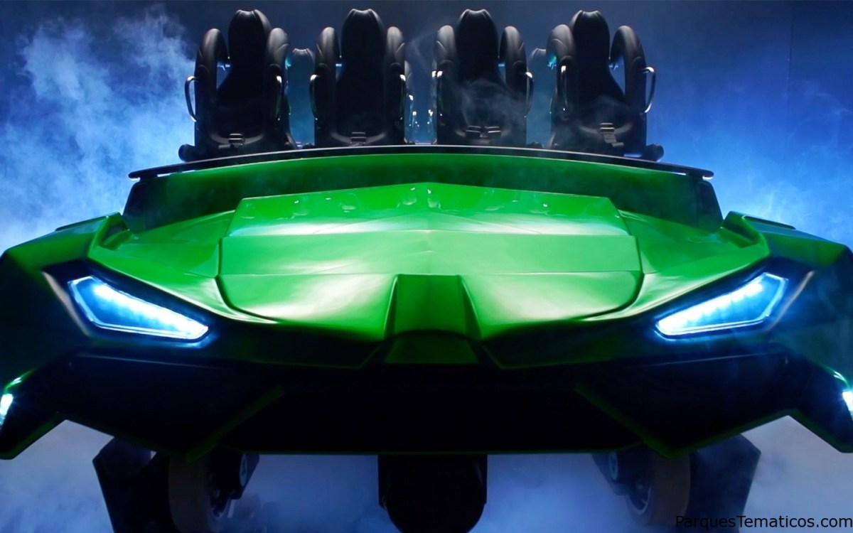 Todos los secretos para el relanzamiento de The Incredible Hulk Coaster