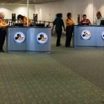 Encontrando el puesto de Disney's Magical Express en el aeropuerto de Orlando, MCO