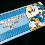 El cartel indicador de Disney´s Magical Express en el aeropuerto de Orlando