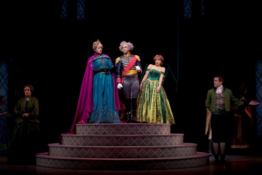 ANNA AND ELSA MEET THE DUKE OF WESELTON  IN 'FROZEN Ð LIVE AT THE HYPERION'