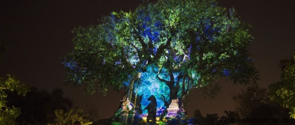 El Árbol de la vida se ilumina en Animal Kingdom