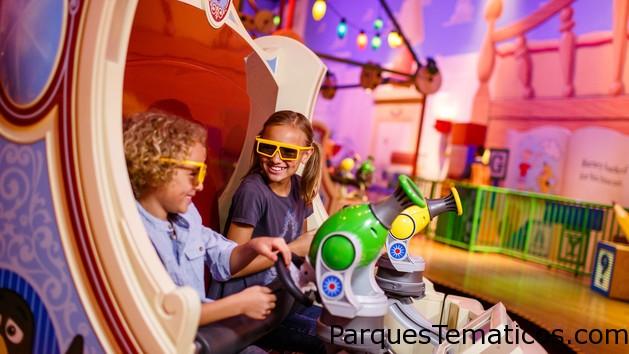 Toy Story Mania! abre un tercer recorrido