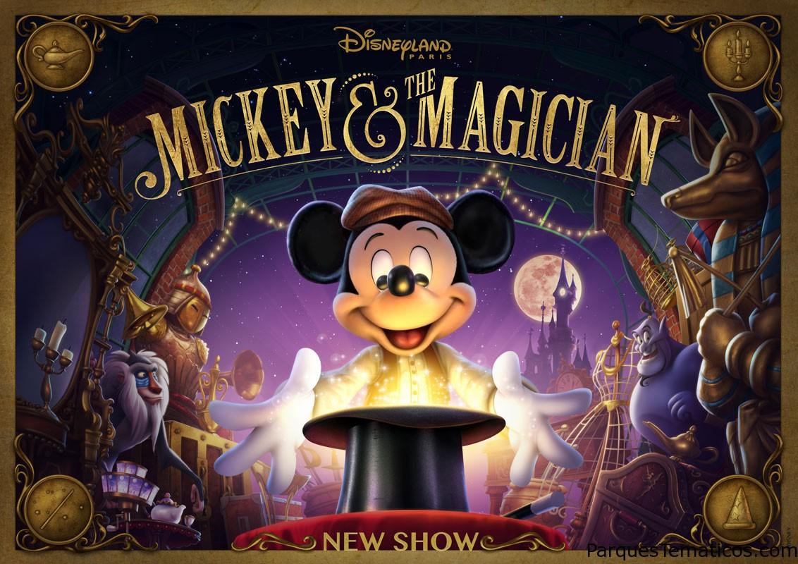 Mickey and the magician, el nuevo show de Disney París
