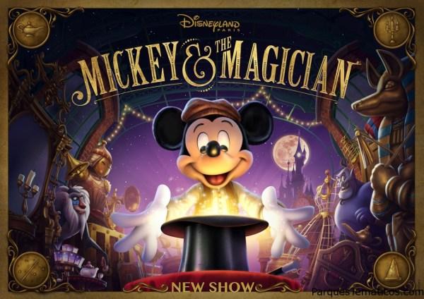 """""""Mickey and the magician"""", el nuevo espectáculo de los Walt Disney Studios®"""