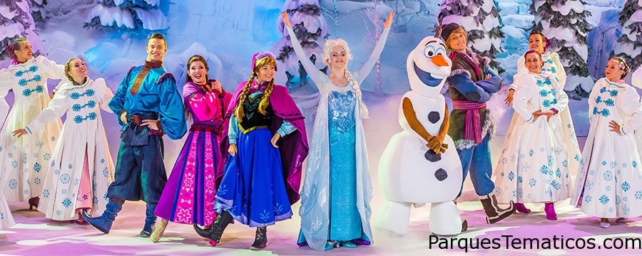 El verano más Frozen en París