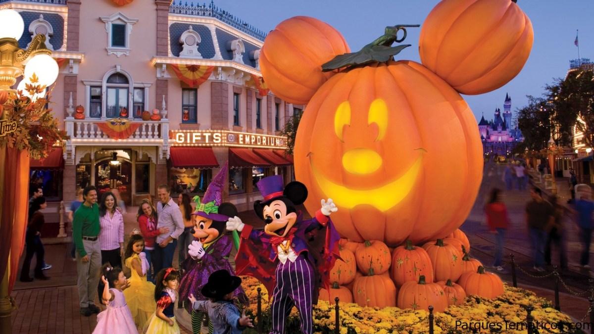 Halloween Time en el Disneyland Resort 2016
