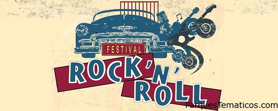 Festival de rock and roll, y Fuegos Artificiales en Disney París
