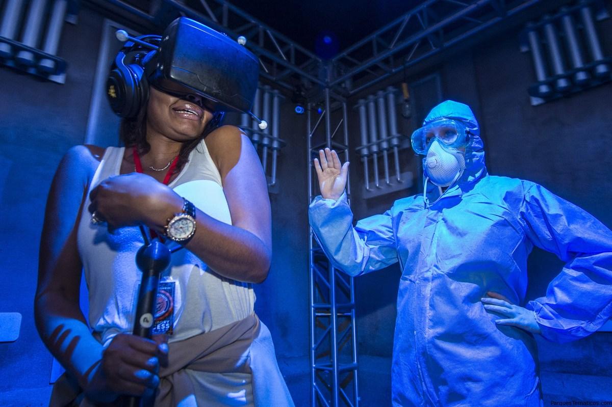 """La anticipada experiencia virtual """"The Repository"""" ya abrió en Universal Orlando"""