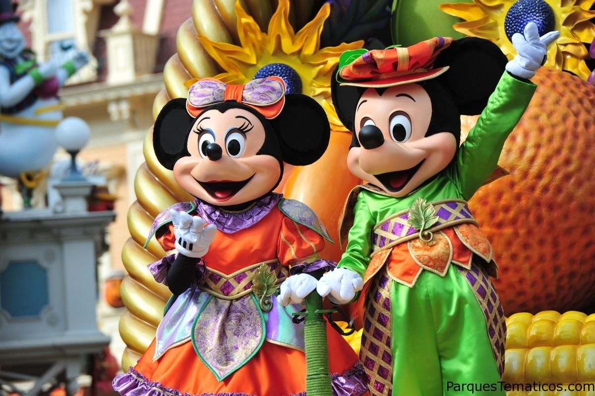 Halloween llega a Disneylan Paris, Yo soy #EquipoMickey