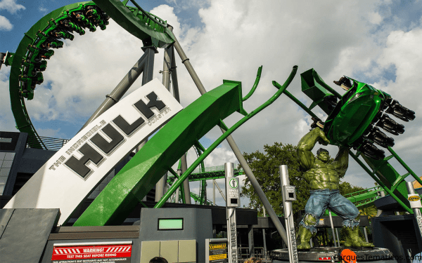 Datos curiosos detrás de la Incredible Hulk Coaster