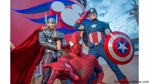 Un crucero en 2017 sorprenderá con los super héroes de Marvel
