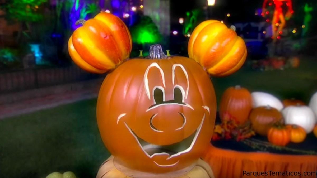 Reviva en video la fiesta de Halloween Time en Disneylandia Resort en California