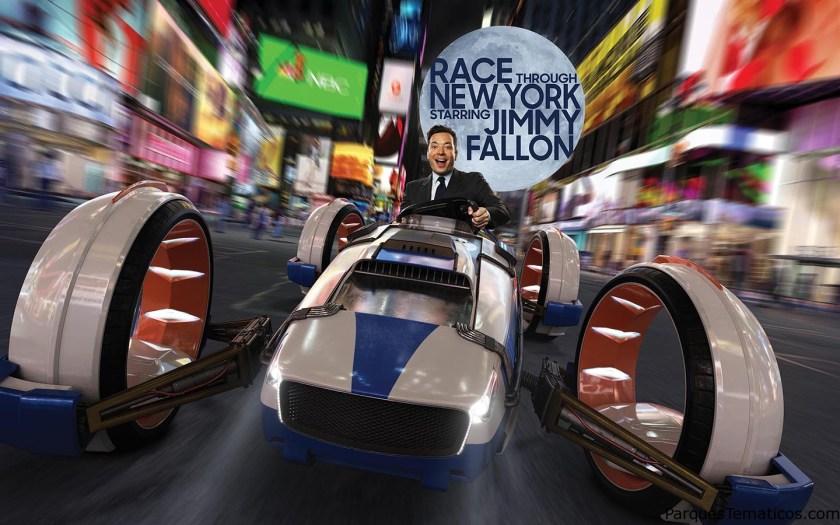 "Universal Orlando revela nuevos detalles de la nueva aventura de ""Race Through New York con Jimmy Fallon"""