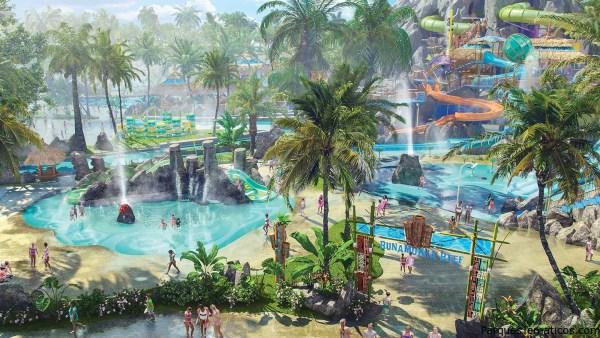 Nuevos detalles sobre Volcano Bay de Universal Orlando