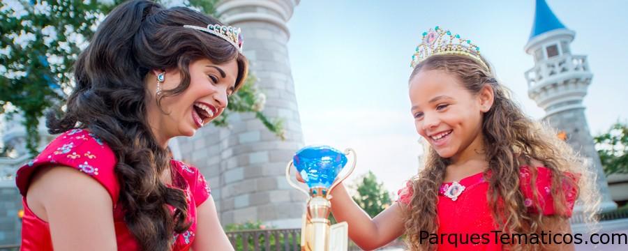 Princesa Elena de Avalor con entretenimiento y espectáculos