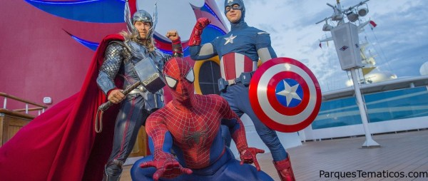 "Disney Cruise Line extiende ""Marvel Day at Sea"" en Disney Magic Miami en 2018"