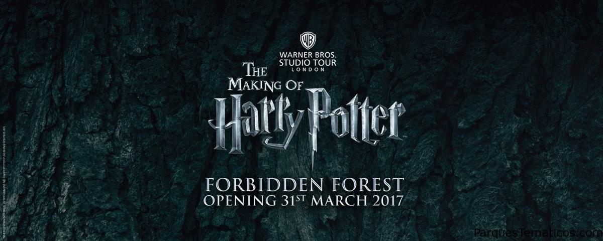 The Forbidden Forest llega a Warner Bros. Studio Tour Londres
