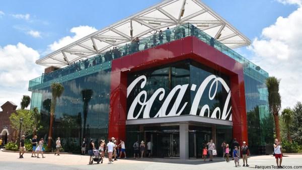 Bar de bebidas de Coca-Cola Store en Disney Springs