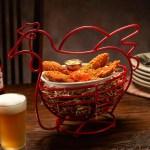 Pollo crunch en el nuevo restaurante en Disney Spring