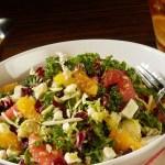 Delicias ligths de ensaladas en el nuevo restaurante Planet Hollywood Observatory