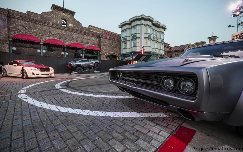 CARS FROM THE FAST AND THE FURIOUS MAKE A PIT STOP AT UNIVERSAL STUDIOS FLORIDA