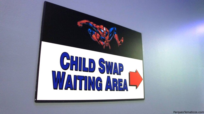 """Qué significa """"Child Swap"""" o """"Rider Switch Pass""""?"""