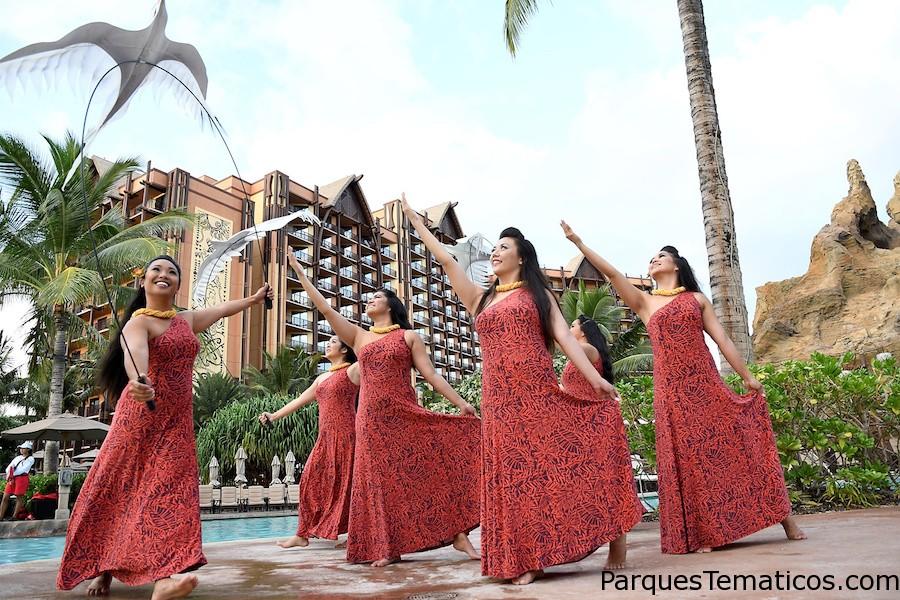Actividades en la noche en Aulani Disney Resort & Spa