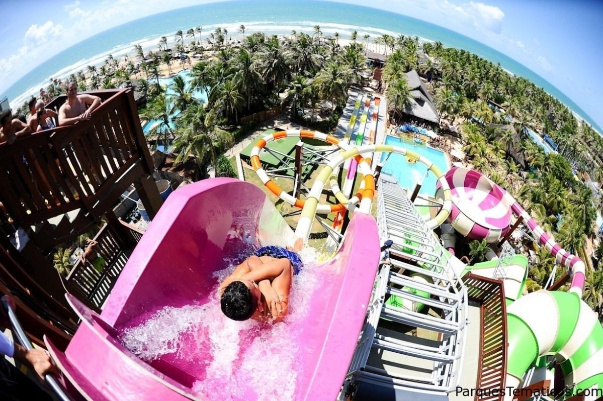 Parque acuático Beach Park en Brasil