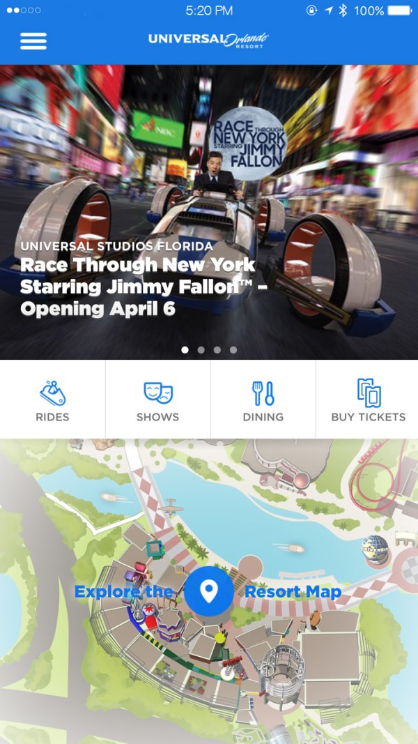 "Guía de uso de la nueva Line Virtual de Universal Orlando para ""Race Through New York Starring Jimmy Fallon"""