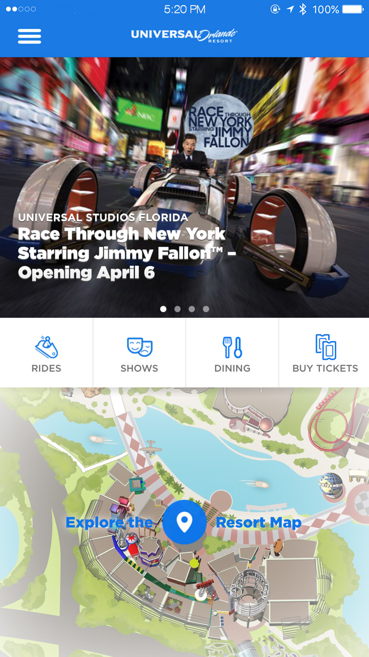 "Guía de uso de la nueva Line Virtual de Universal Orlando para ""Race Through New York Starring Jimmy Fallon"""