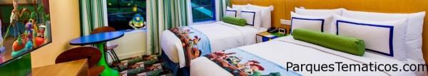 Habitaciones en Toy Story Hotel