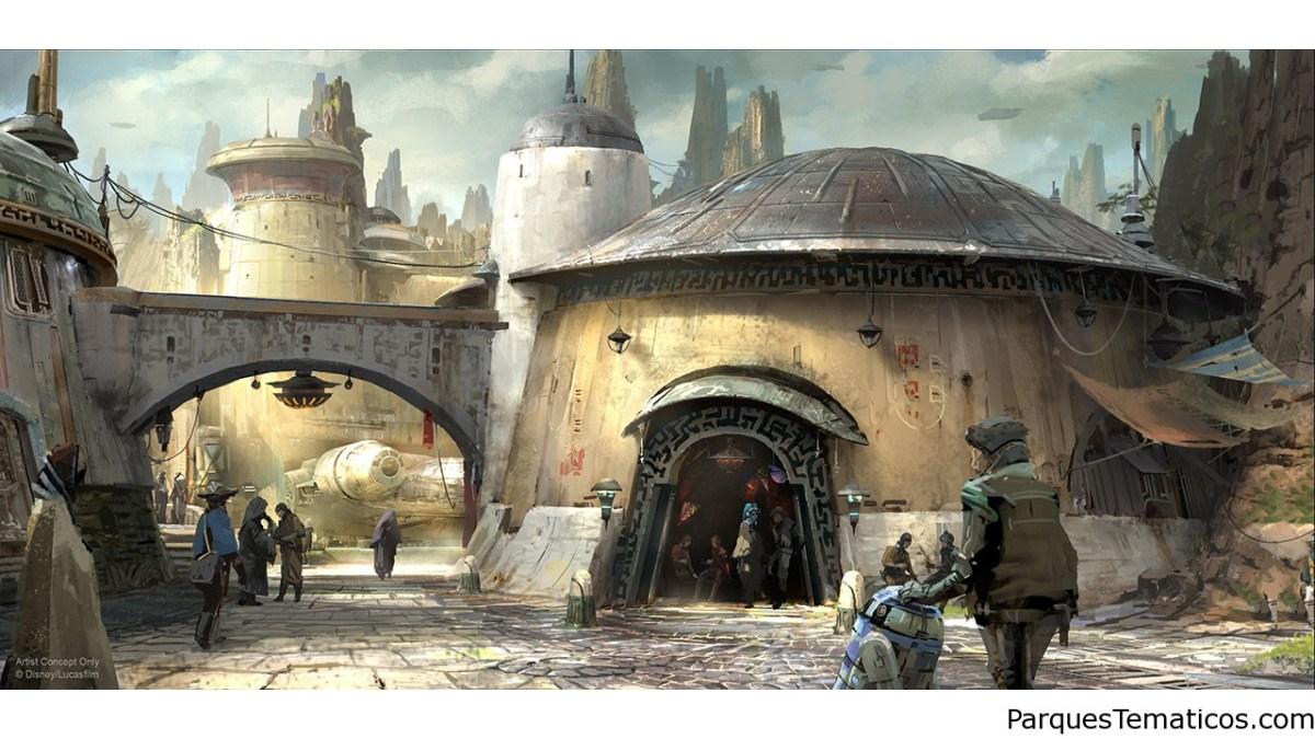 Nuevos detalles de la Tierra de Star Wars
