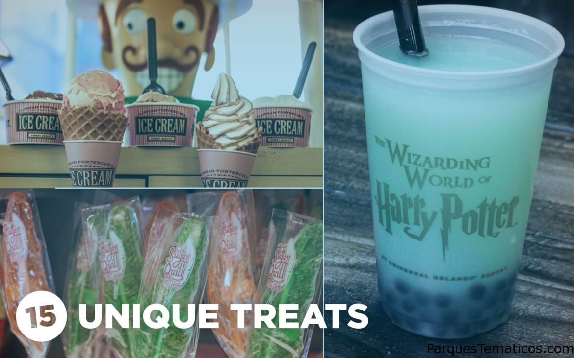 Refrigerios que solo puedes encontrar en The Wizarding World of Harry Potter – Diagon Alley