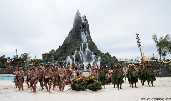 Ya abierto, Volcano Bay de Universal Orlando Resort