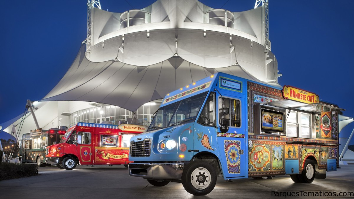Vuelven los Food Truck a Disney Springs!