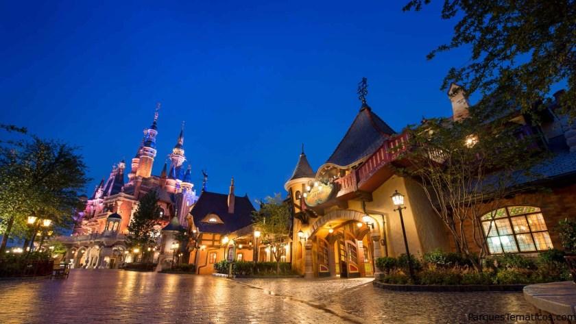 La felicidad de los niños en Disney Shangai