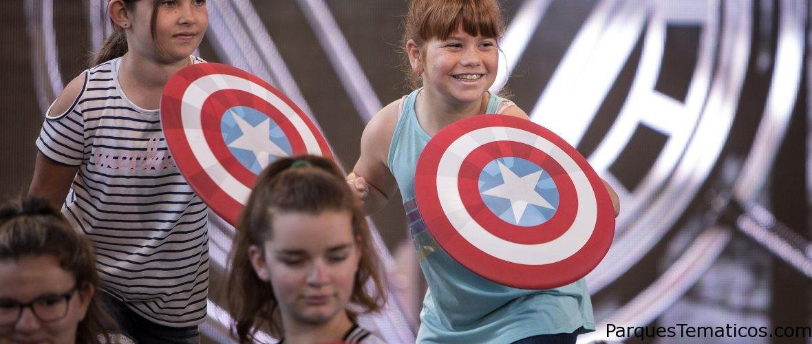 Summer of Heroes en Disneyland Resort, hoja informativa