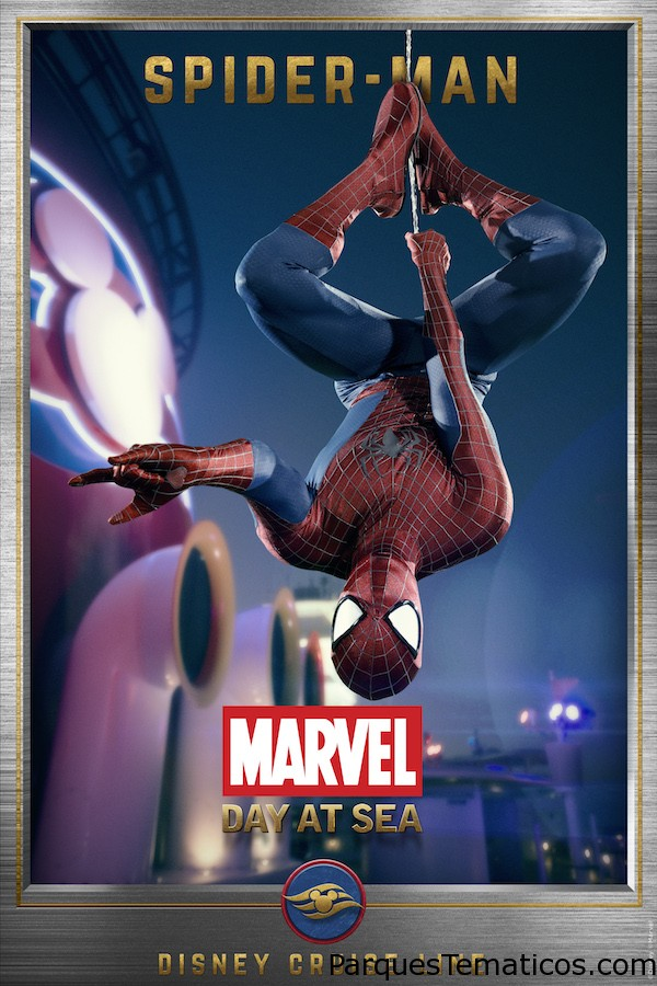 Conoce a los Superhéroes de Marvel Day at Sea: Spider-Man