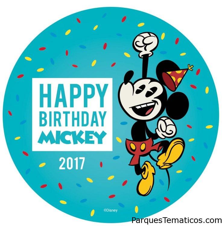 MICKEY MOUSE SORPRENDERÁ A SU FANS EN TODOS LOS DISNEY DEL MUNDO POR SU CUMPLEAÑOS HOY