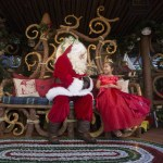 SANTA'S HOLIDAY VISIT -- Jolly old St. Nick arrives at Redwood Creek Challenge Trail at Disney California Adventure park for Santa's Holiday Visit. His joyful elves have transformed the trail into a magical playground of holiday fun and games, including opportunities for guests to join the ranks of Santa's elves.