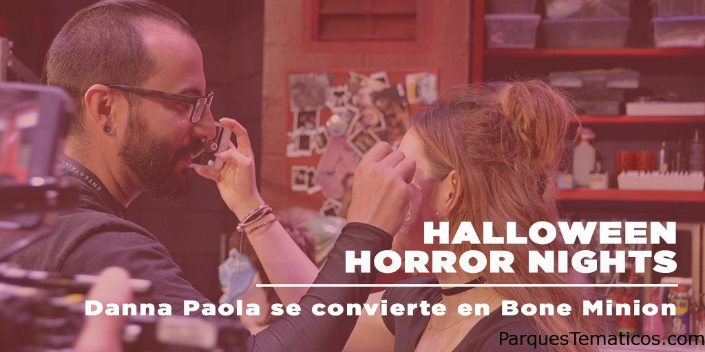 DANNA PAOLA Y LOS RULÉS SE APODERAN DE LAS HALLOWEEN HORROR NIGHTS