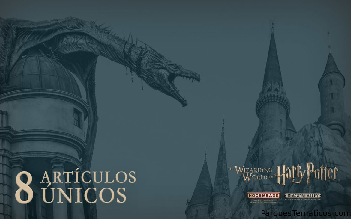 Artículos únicos en The Wizarding World of Harry Potter imperdibles