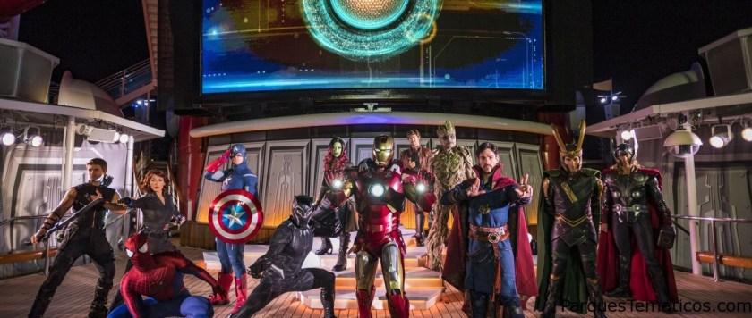 En 2019 Disney Cruise Line embarca a sus viajeros en aventuras épicas gracias con el regreso de Star Wars Day y Marvel Day at Sea